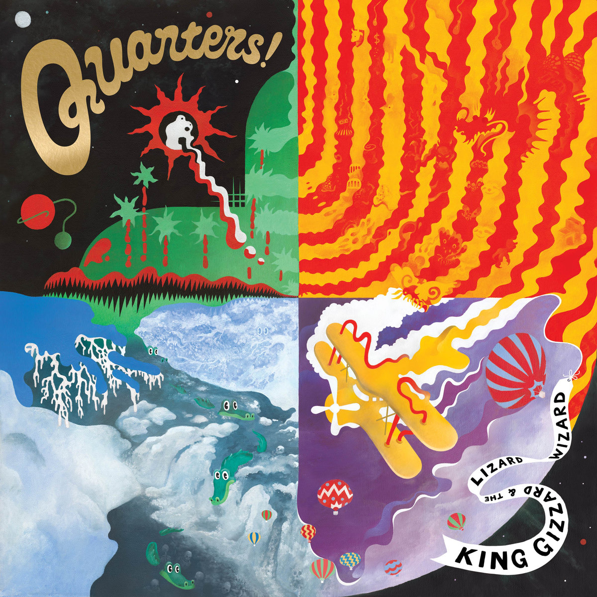 King Gizzard & The Lizard Wizard - Quarters! (2015)