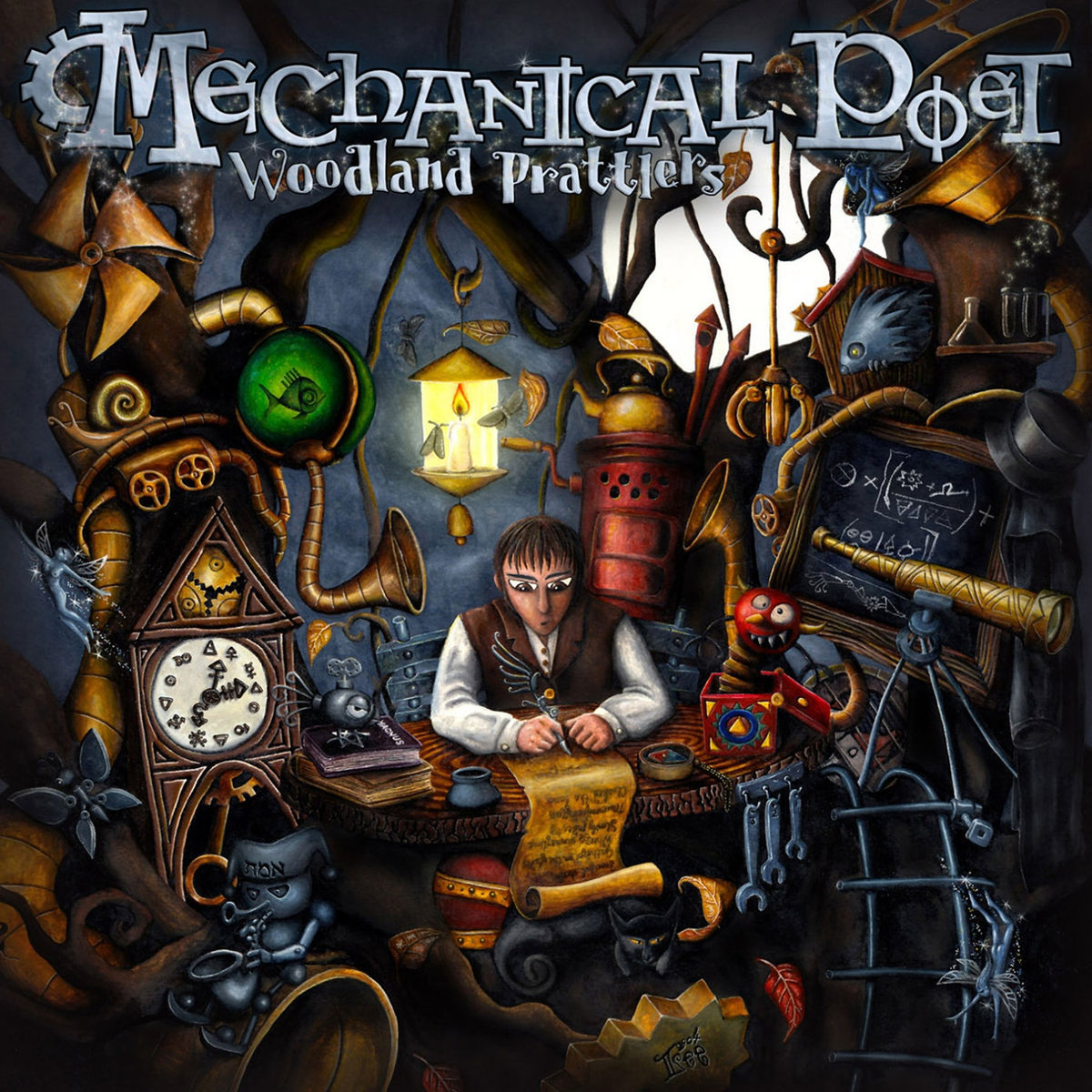 Mechanical Poet - Woodland Prattlers (2003)