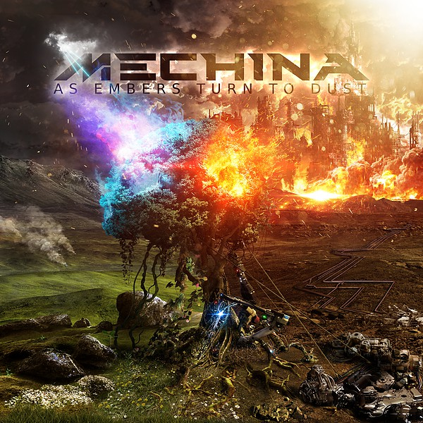 Mechina - As Embers Turn To Dust (2017)