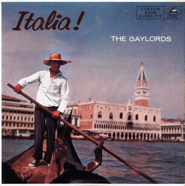 The Gaylords - Italia ! (1957)
