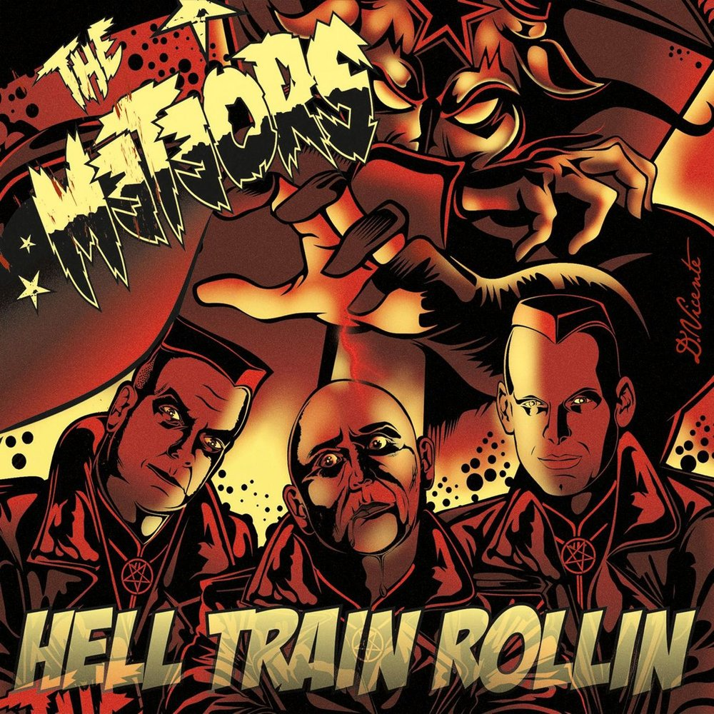 The Meteors - Hell Train Rollin (2009)